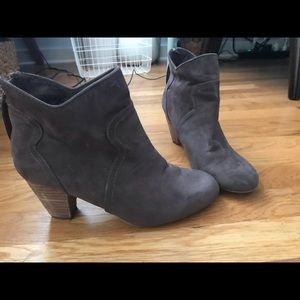 Chocolate Brown Bootie -Size 8.5